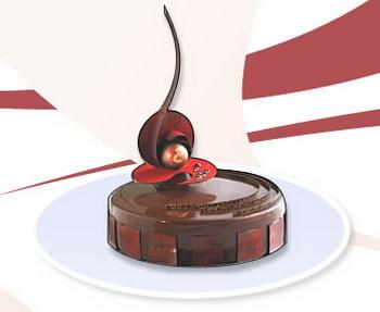 Новый торт на Новый год. Фото: 1tort.ru