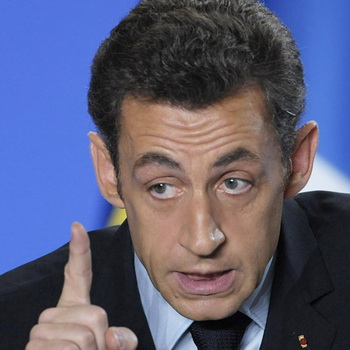 Президент Франции Николя Саркози. Фото из архива РИА Новости