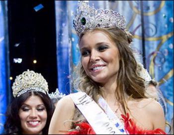 На конкурсе «Краса России — 2010» победила  Дарья Коновалова из Ярославля. Фото с сайта amic.ru