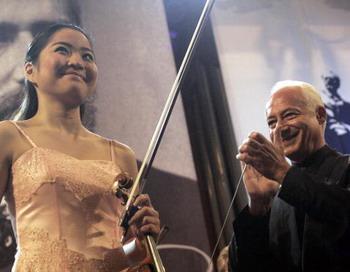 Большое сердце Владимира Спивакова . Фото: GRIGORY SOBCHENKO/AFP/Getty Images