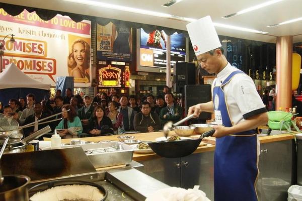 Место проведения конкурса на площади Таймс-сквер. Фото с сайта ru-enlightenment.org