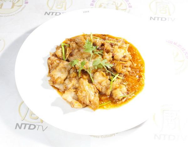 Китайское блюдо, представленное в финальном туре третьего Международного конкурса китайского кулинарного искусства. Фото с сайта ru-enlightenment.org