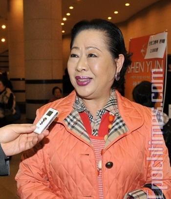Знаменитая корейская исполнительница танцев: «Все номера были безупречными». Фото с сайта theepochtimes.com