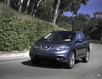 Кроссовер премиум-класса  2012 Nissan Murano. Фото: Nissan News