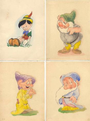 Адольф Гитлер был поклонником Белоснежки? Четыре загадочных рисунка из мультфильмов Диснея. Фото с сайта epochtimes.de/