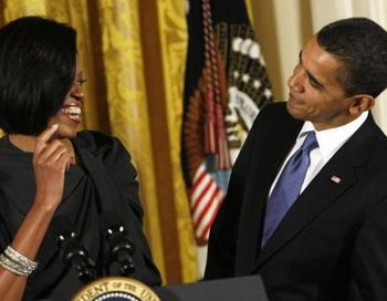 Мишель Обама раскрыла  секреты супружеского счастья ко дню Святого Валентина. Фото с сайта bazonline.ch