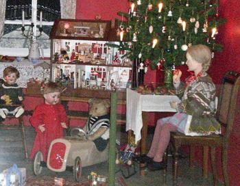 Дрезденская рождественская комната 1900 года в оригинальную величину. Фото: Ингрид Витиг/ Великая Эпоха (The Epoch Times)