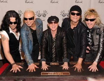 Экспорт из Германии: увековечены на Голливудской аллее славы рядом с легендарными рок-музыкантами. Фото с сайта epochtimes.de