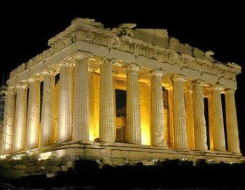 Греческий Акрополь. Парфенон. Фото: Milos BICANSKI/Getty Images