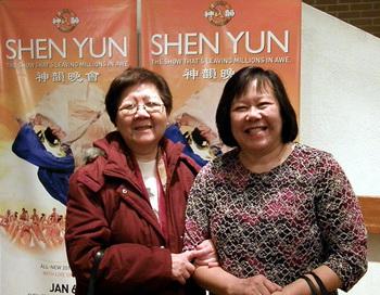«Моё желание исполнилось: я посмотрела шоу Shen Yun». Фото с сайта minghui.ca