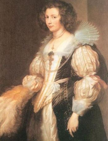 Портрет Марии Луджии де Тассис: сэр Антониус Ван Дейк (1599-1641), холст, масло. Фото с сайта theepochtimes.com