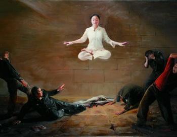 Картина «Потрясение»  Мишель Чэнь из Канады удостоена золотой награды. Фото с сайта theepochtimes.com
