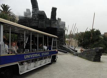 Аттракцион «King Kong 360 3-D» в голливудском парке Universal Studios, 29 июня 2010 года, Юниверсал Сити, Калифорния. Фото: theepochtimes.com