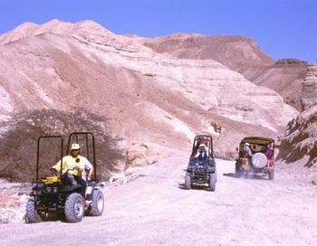 Природа создала такие формы: джип-тур через иудейскую пустыню. Фото: Эльке Бакерт