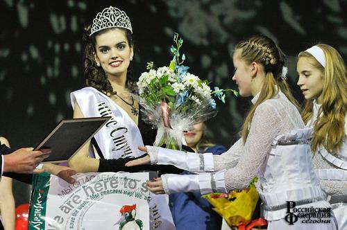 В конкурсе «Мисс Студенчество России 2010» победила Карина Титова. Фото с сайта russia-today.ru