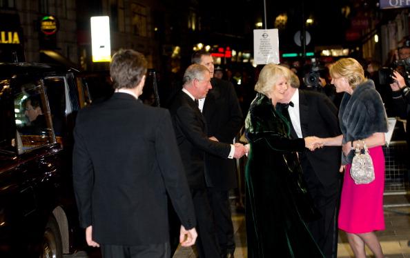 Лимузин принца Чарльза и его супруги Камиллы был атакован в Лондоне протестующими студентами. Фото: Ian Гавань / Getty Images