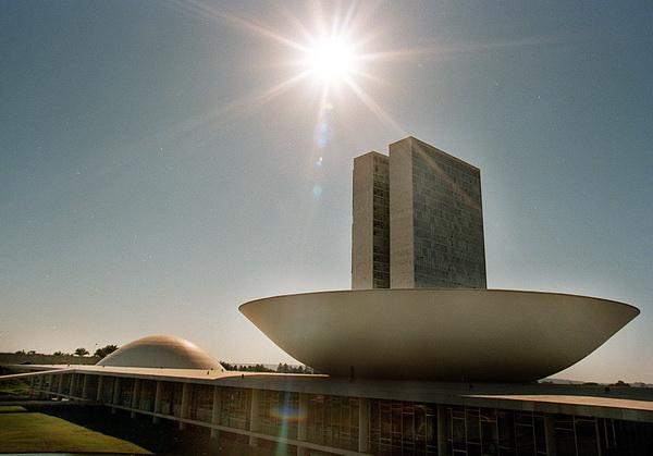 Национальный конгресс в Бразилиа. Фото: ANTONIO SCORZA/AFP/Getty Images
