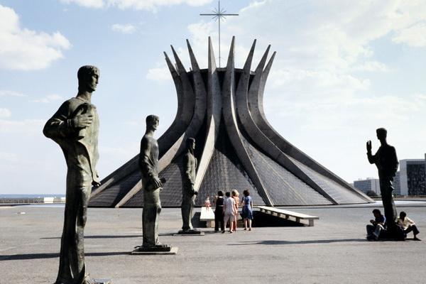 Собор  в Бразилиа. Фото: AFP/Getty Images