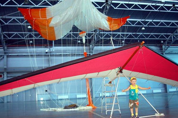 Международный салон гражданской авиации и воздухоплавания «ИнтерАэроКом. Санкт-Петербург 2010». Фото: Ира Ошерова/Великая Эпоха