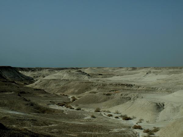 От Иерусалима до Афулы через Иорданскую долину. Ланшафт на месте высохшего Мертвого моря. Фото: Хава ТОР/Великая Эпоха