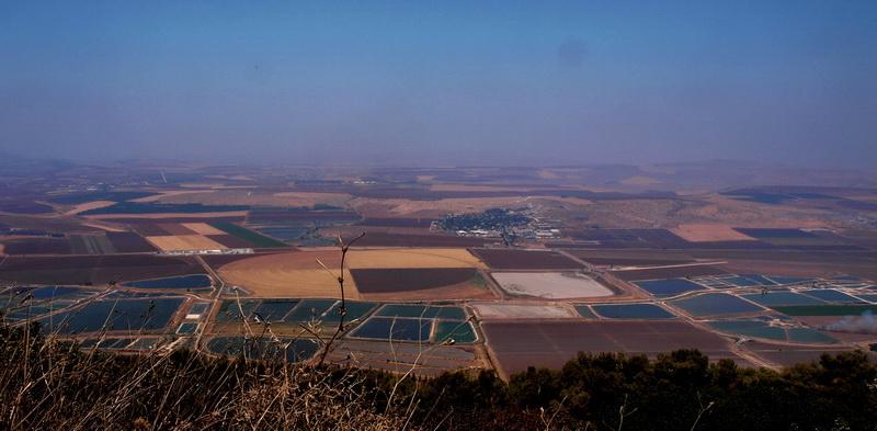 От Иерусалима до Афулы через Иорданскую долину. Вид с горы Гильбоа на долину Изреель. Фото: Хава ТОР/Великая Эпоха