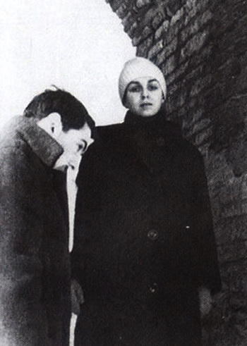 Иосиф Бродский  и  Марина Басманова. Фотот с сайта gzt.ru