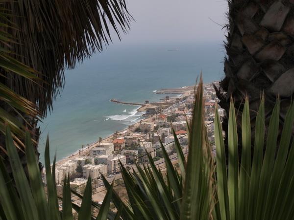 Хайфа, вид с горы Кармель. Фото: Хава ТОР/Великая Эпоха