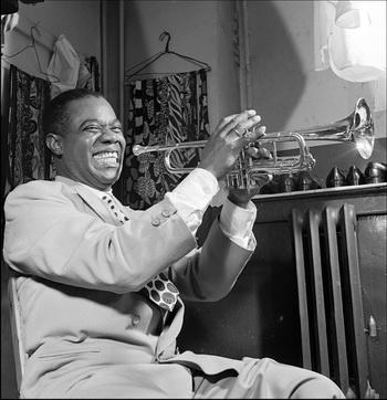 великий американский джазовый музыкант.