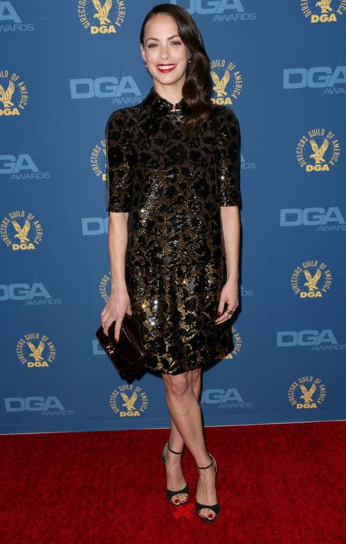 Беренис Бежо на вручении премии Гильдии режиссёров США 3 февраля 2013 года в Голливуде, США. Фото: Frederick M. Brown/Getty Images