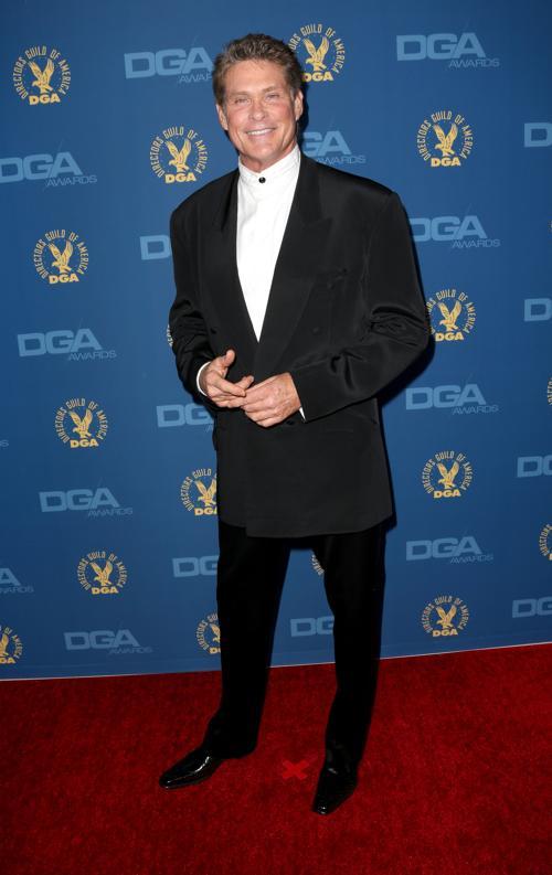 Дэвид Хассельхофф на вручении премии Гильдии режиссёров США 3 февраля 2013 года в Голливуде, США. Фото: Frederick M. Brown/Getty Images