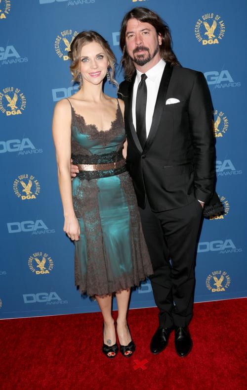 Дэйв Грол (П) и Джордин Блум (Л) на вручении премии Гильдии режиссёров США 3 февраля 2013 года в Голливуде, США. Фото: Frederick M. Brown/Getty Images