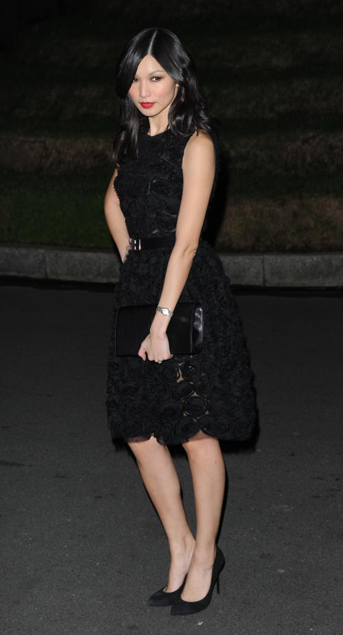 Джемма Чан на церемонии вручения премии Evening Standard British Film Awards  в Лондоне 4 февраля 2013 года. Фото: Wilson/Getty Images