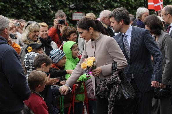 Кронпринц Фредерик и кронпринцесса Мэри в Германии. Фото: Sean Gallup/Getty Images
