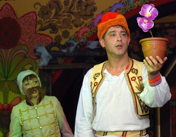 Детский сказочный спектакль «Близнецы» о четырех братьях. Фото: Юлия Цигун/Великая Эпоха (The Epoch Times)