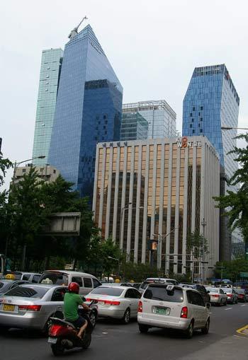 Даунтаун – деловой центр Сеула. Фото: Алла Хегай/Великая Эпоха