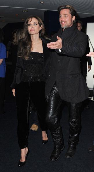 Брэд Питт и Анжелина Джоли на премьере мультфильма