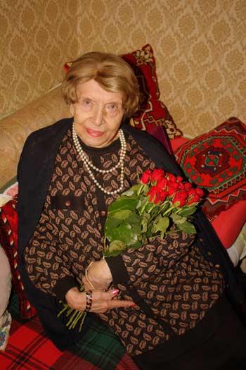 Н.К. Прихненко бережно хранит воспоминания о Федоре Шаляпине. Фото: Мария Трошенкова