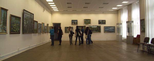 Выставка «Очарование Севера». Фото предоставлено живописцем, членом Союза художников Петербурга Павлом Еськовым