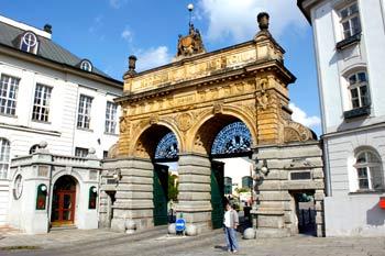 Ворота в Пльзеньский Праздрой.  Фото: Ирина Рудская/Великая Эпоха
