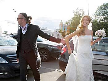 Владимир Пресняков и Наталья Подольская. Фото: NEWSru.ua