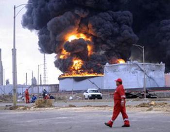 Пожар на нефтеперерабатывающем заводе Венесуэлы, унёсший жизни 48 человек, ликвидирован. Фото:posta.com.tr