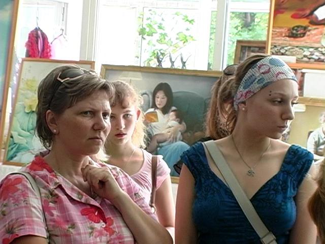 Международная художественная выставка «Истина-Доброта-Терпение — искусство, дарованное свыше» проходит в городе Ессентуки. Фото: NTD TV