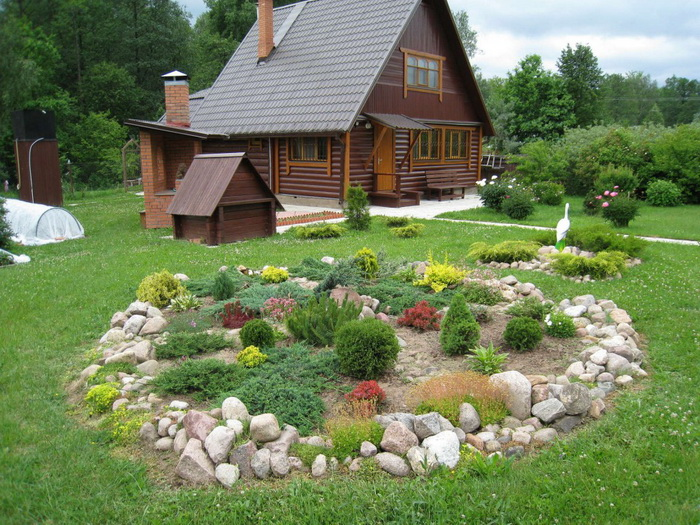 Как подготовить садовый участок для ландшафтного планирования? Фото с dachniy-club.ru