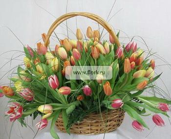 Доставка цветов — как выбрать цветы с доставкой оптимально. Фото: flork.ru