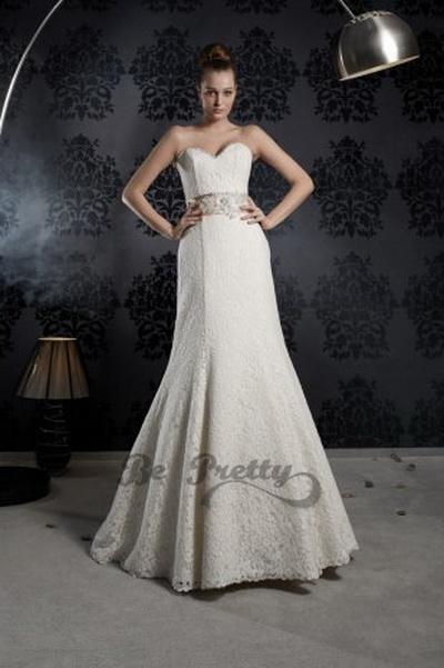 Модные свадебные платья – что 2013 год нам готовит? Фото с be-pretty.ru