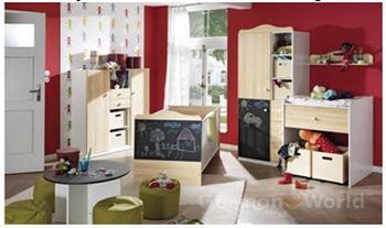 Основной подход при изготовлении мебели для детской комнаты. Фото с germanworld.ru