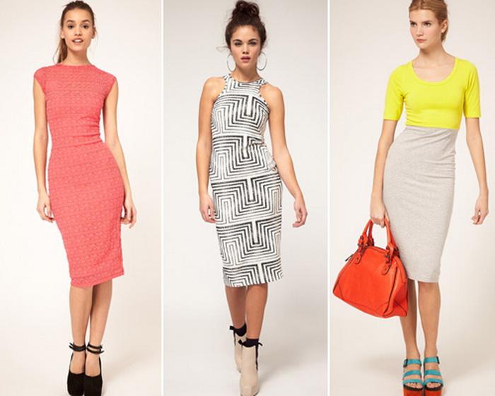 Платье-футляр. Фото с ladysarafan.ru