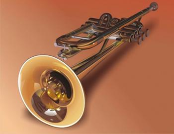 Громкая  игра на тромбоне и трубе опасна. Фото с images03.olx.ru
