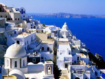 Удивительная страна Греция. Фото с wallpampers.ru