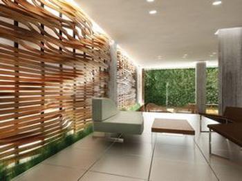 Бамбуковая мебель, гобелены на стенах из бамбуковых палочек и бамбуковый пол делают жилье более здоровым и «зеленым». Фото с жЩЬХЭ
